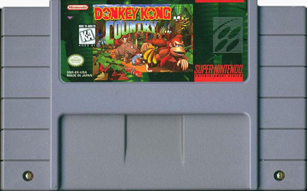 Vintage SUPER NES CONSOLE Retro Video Games /'ON LIKE DONKEY KONG/' T SHIRT