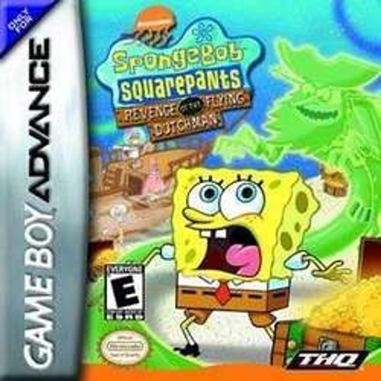 SpongeBob SquarePants Revenge Of The Flying Dutchman - Game Boy Advance Game