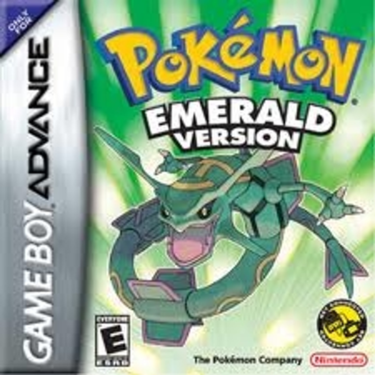 Pokemon Emerald Version - Game Boy Advance Game