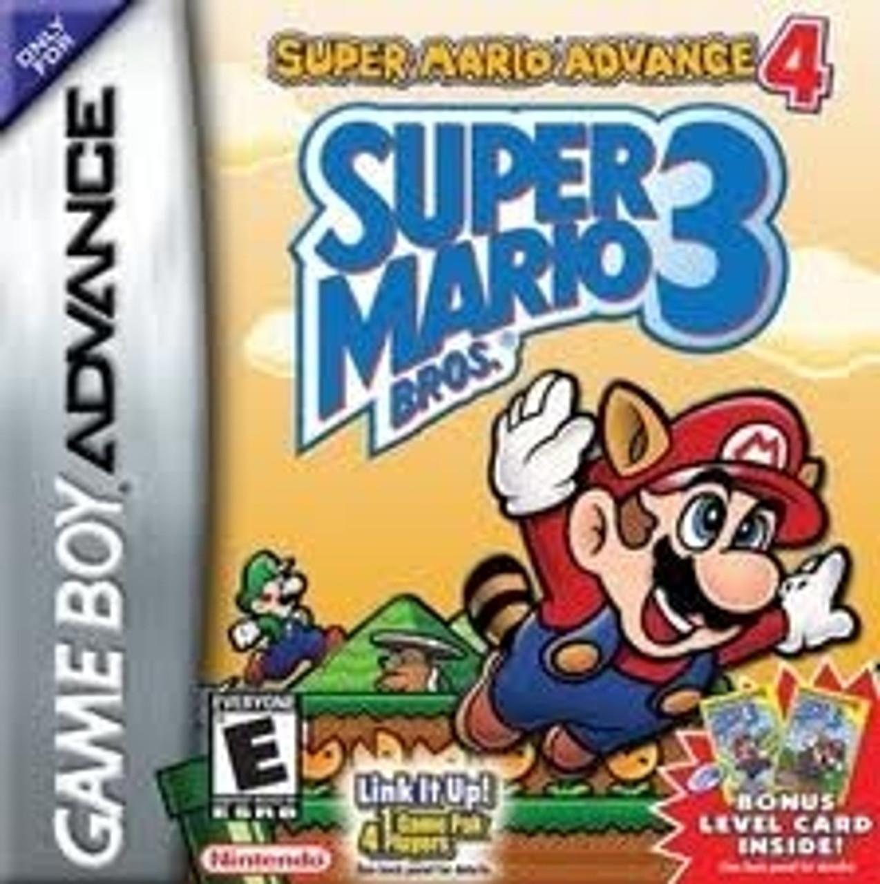 Super Mario Advance 4 Super Mario Bros 3 Gameboy Game Advance