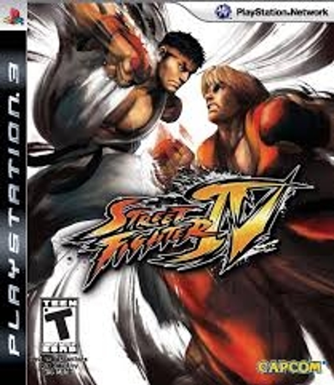 Street Fighter Iv Ps3 Game For Sale Dkoldies