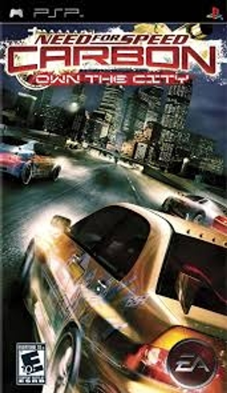 Need For Speed Carbon Psp Game For Sale Dkoldies