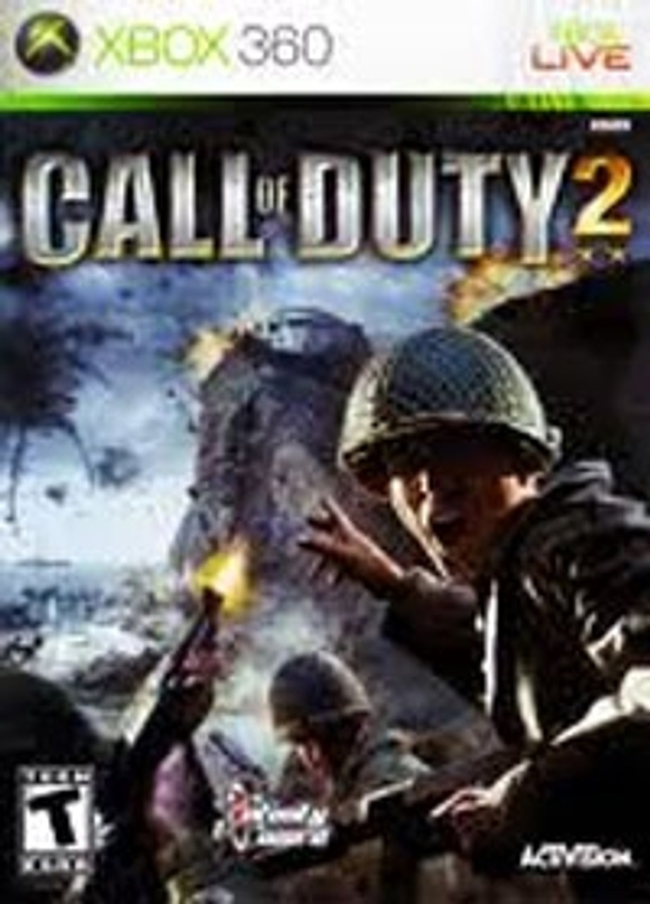 Call Of Duty 2 Xbox 360 Game For Sale Dkoldies