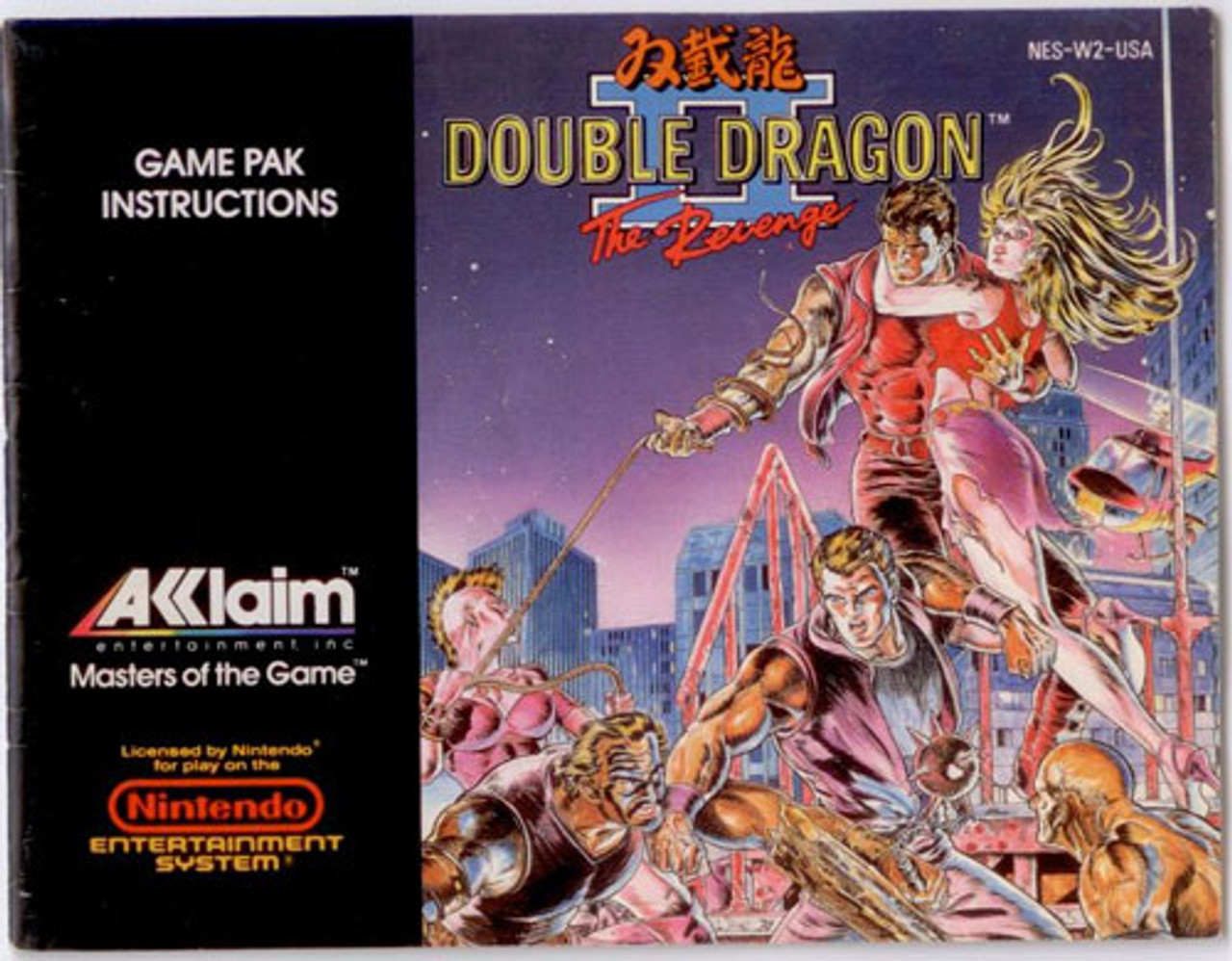double dragon 2 nes