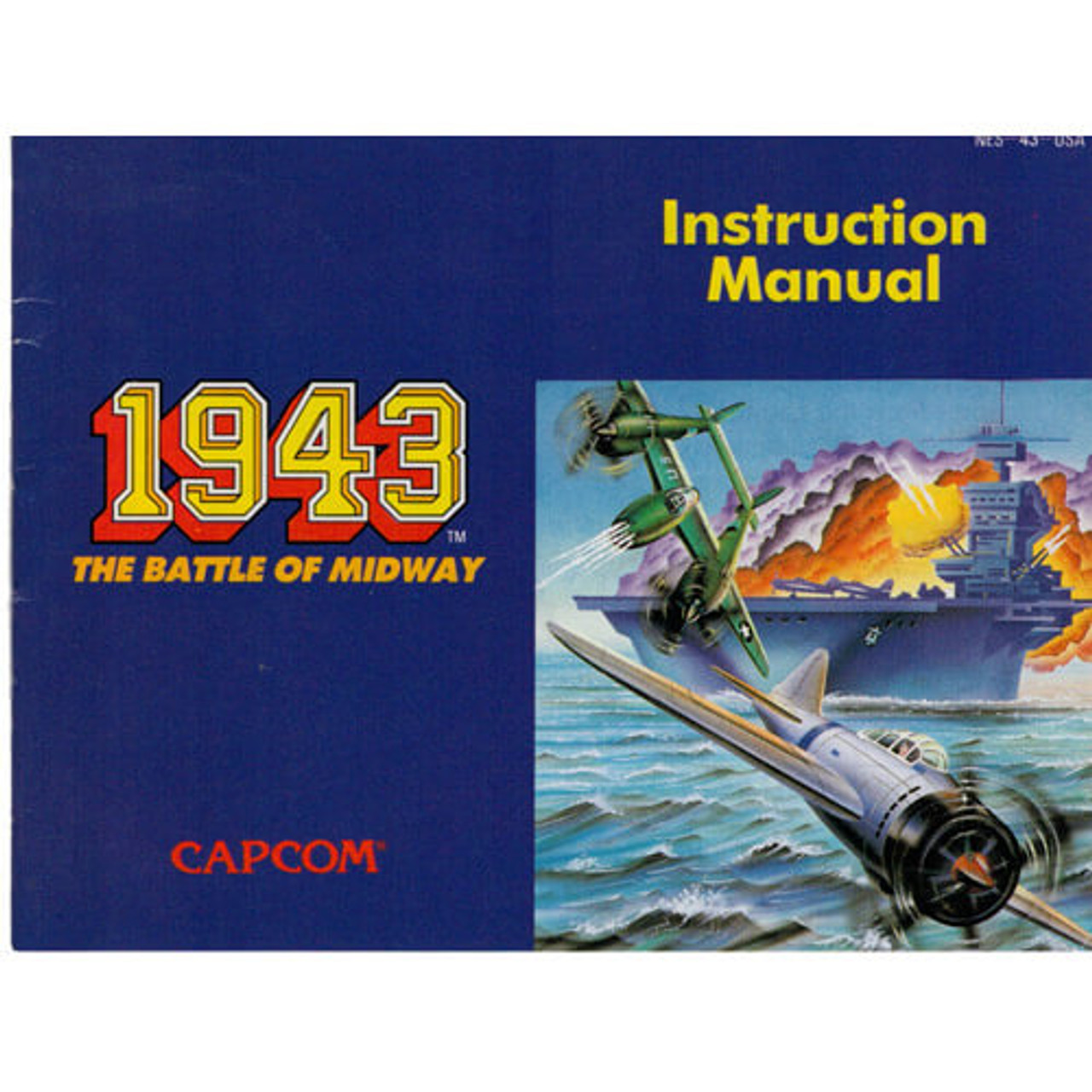 1943 The Battle Of Midway - NES Manual
