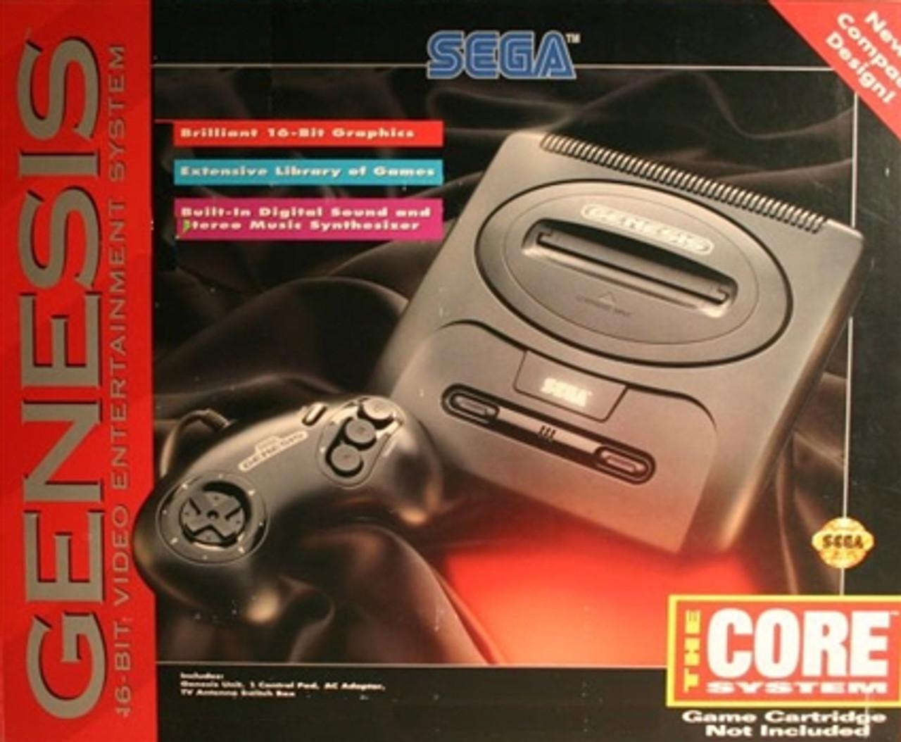 Sega Genesis II Core System Complete in Box