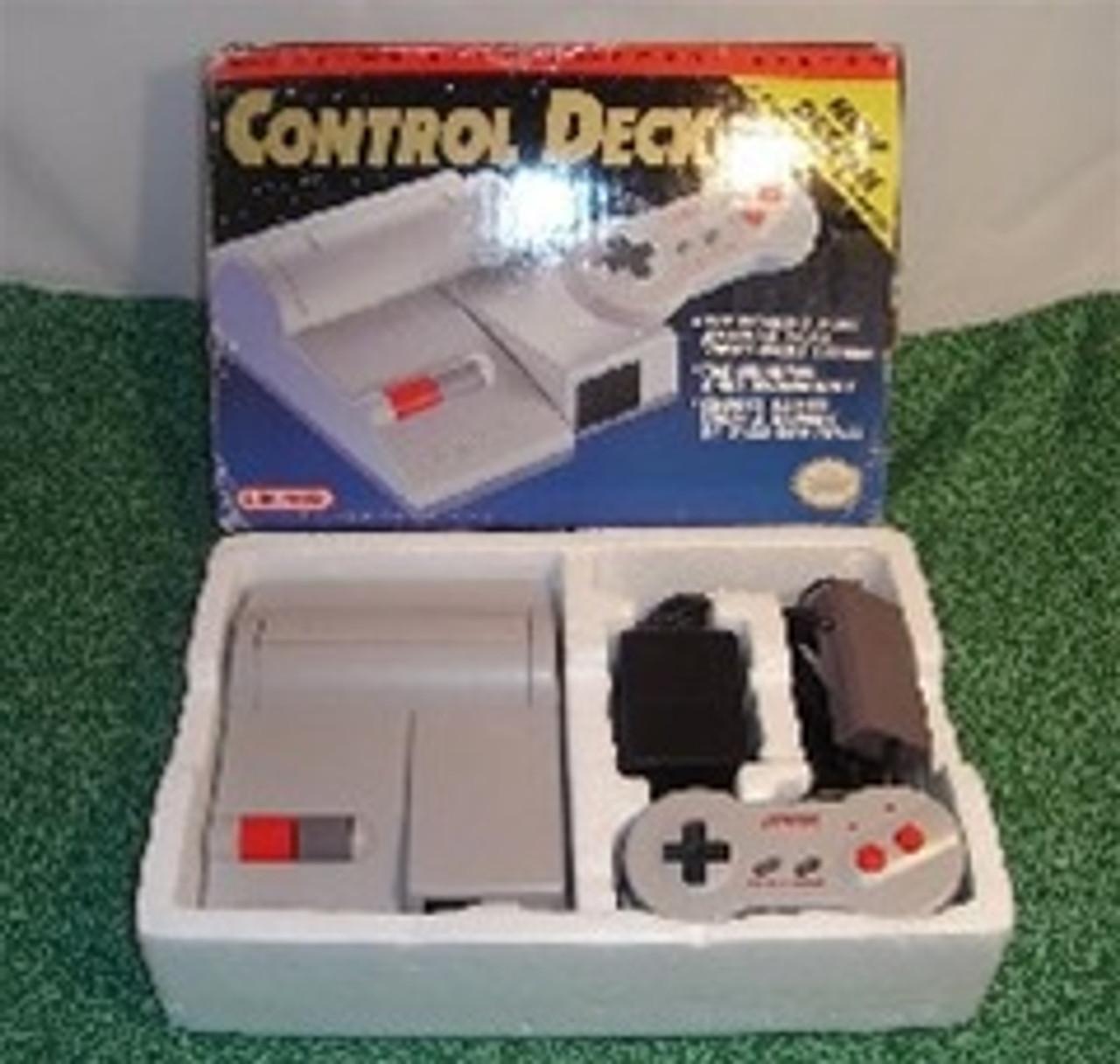 Nintendo NES Top Loader System Complete in Box - Original
