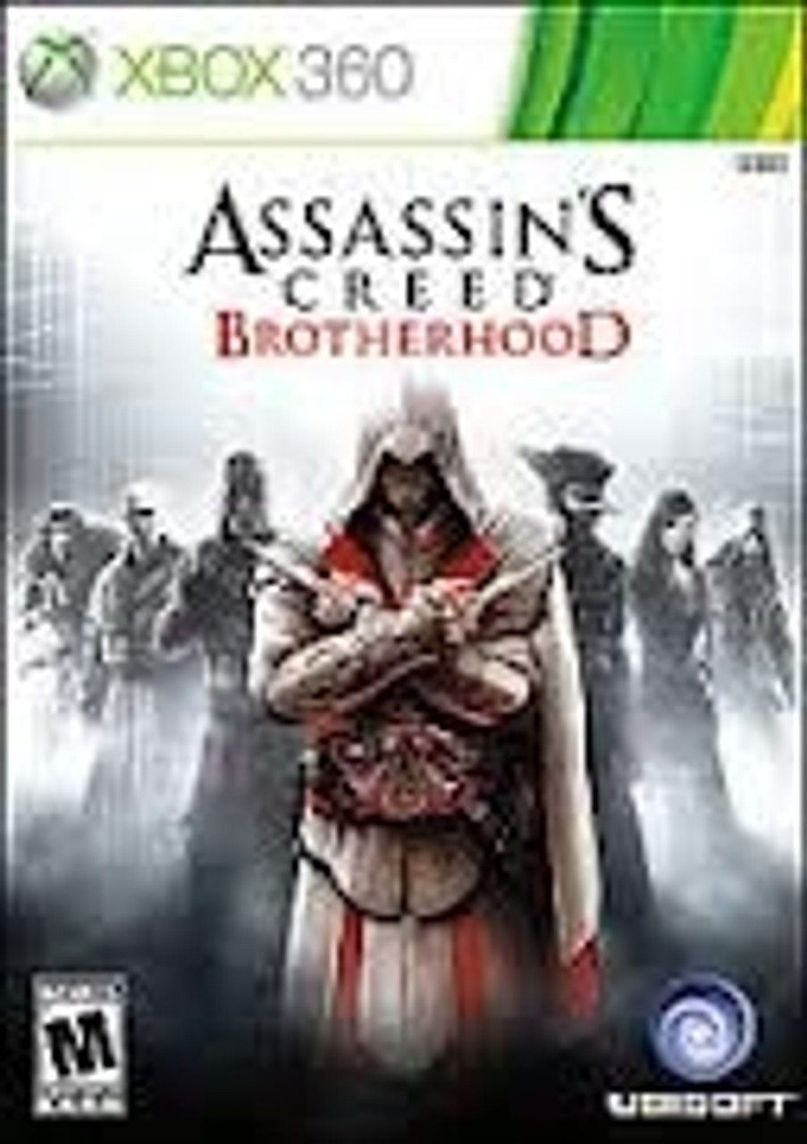 Assassins Creed Brotherhood Xbox 360 Game For Sale