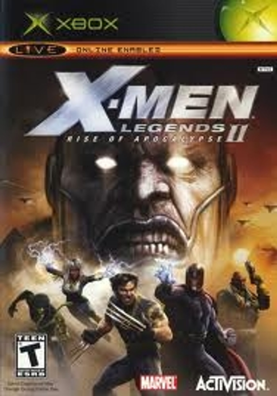 X Men Legends Ii Rise Of The Apocalypse Xbox Game For Sale
