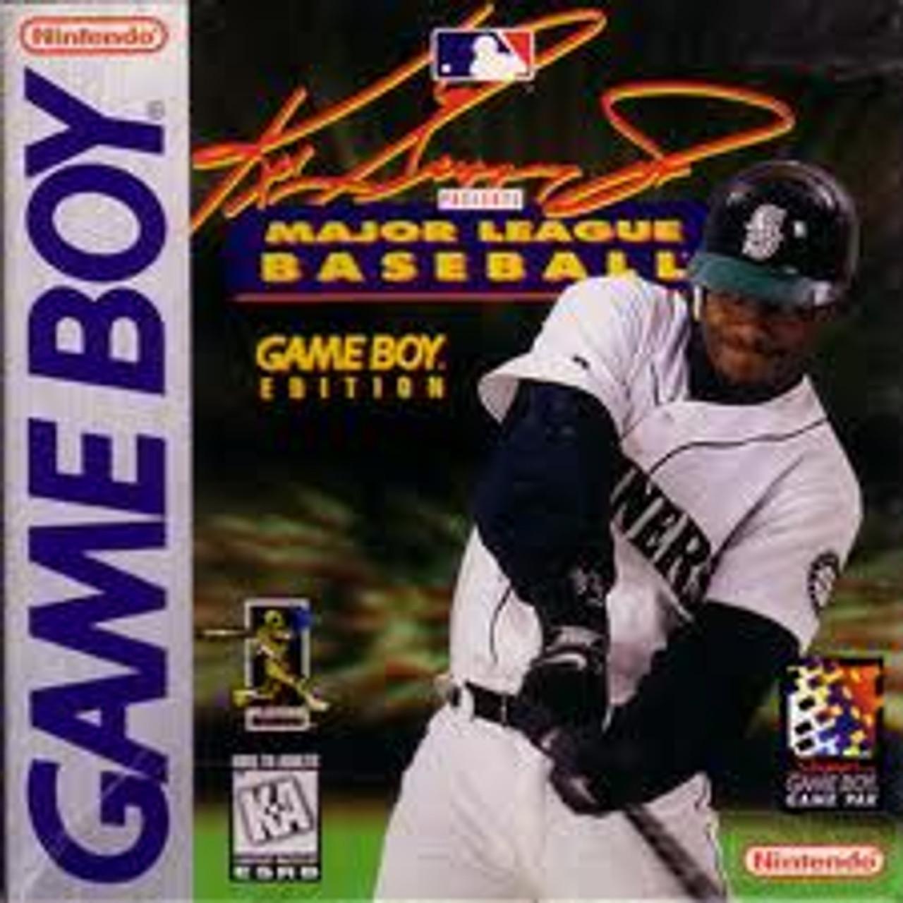 best website 575e0 e89f6 Ken Griffey Jr Presents Major League Baseball - Game Boy Game
