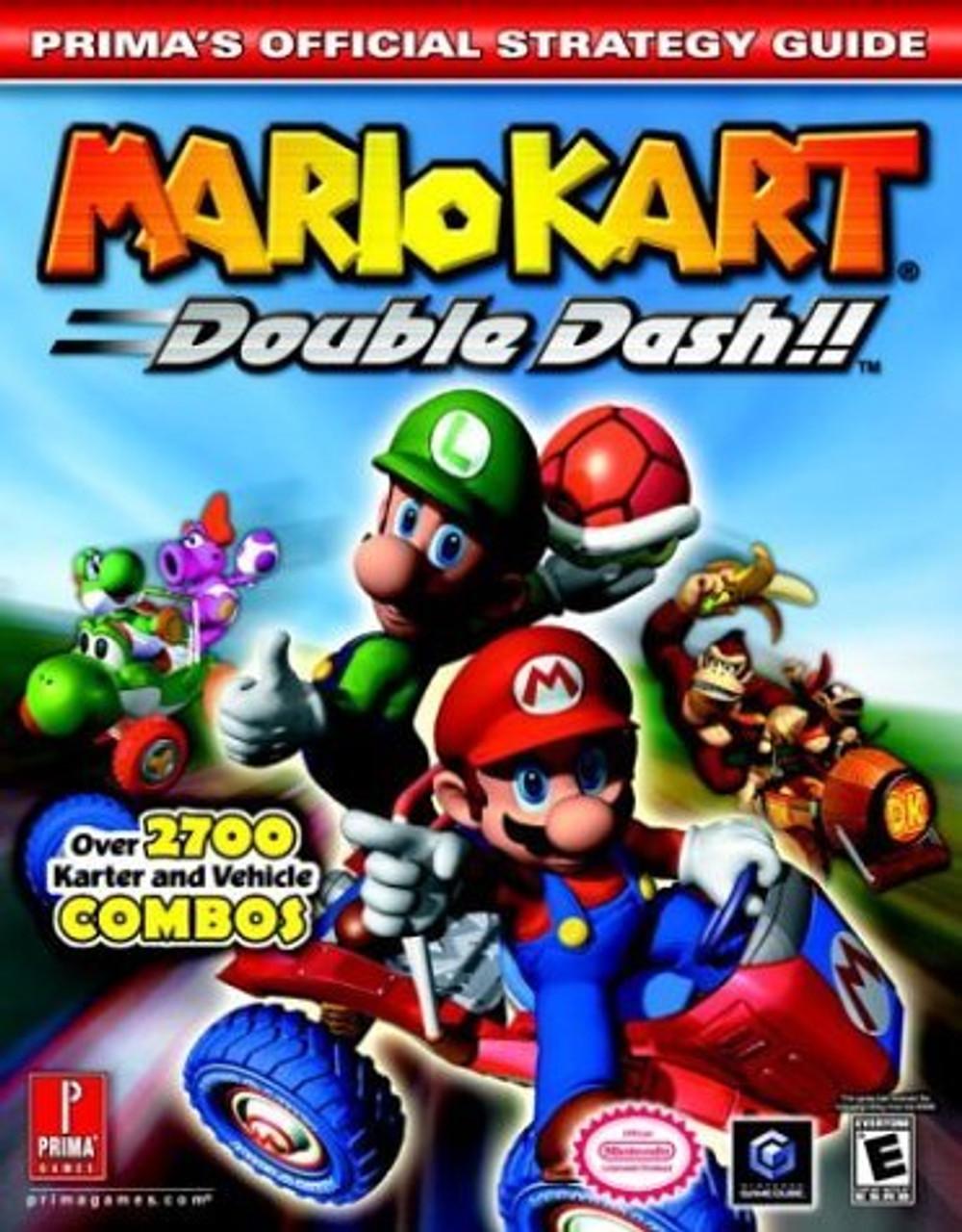 Mario Kart Double Dash Nintendo Gamecube Strategy Guide Prima Sale