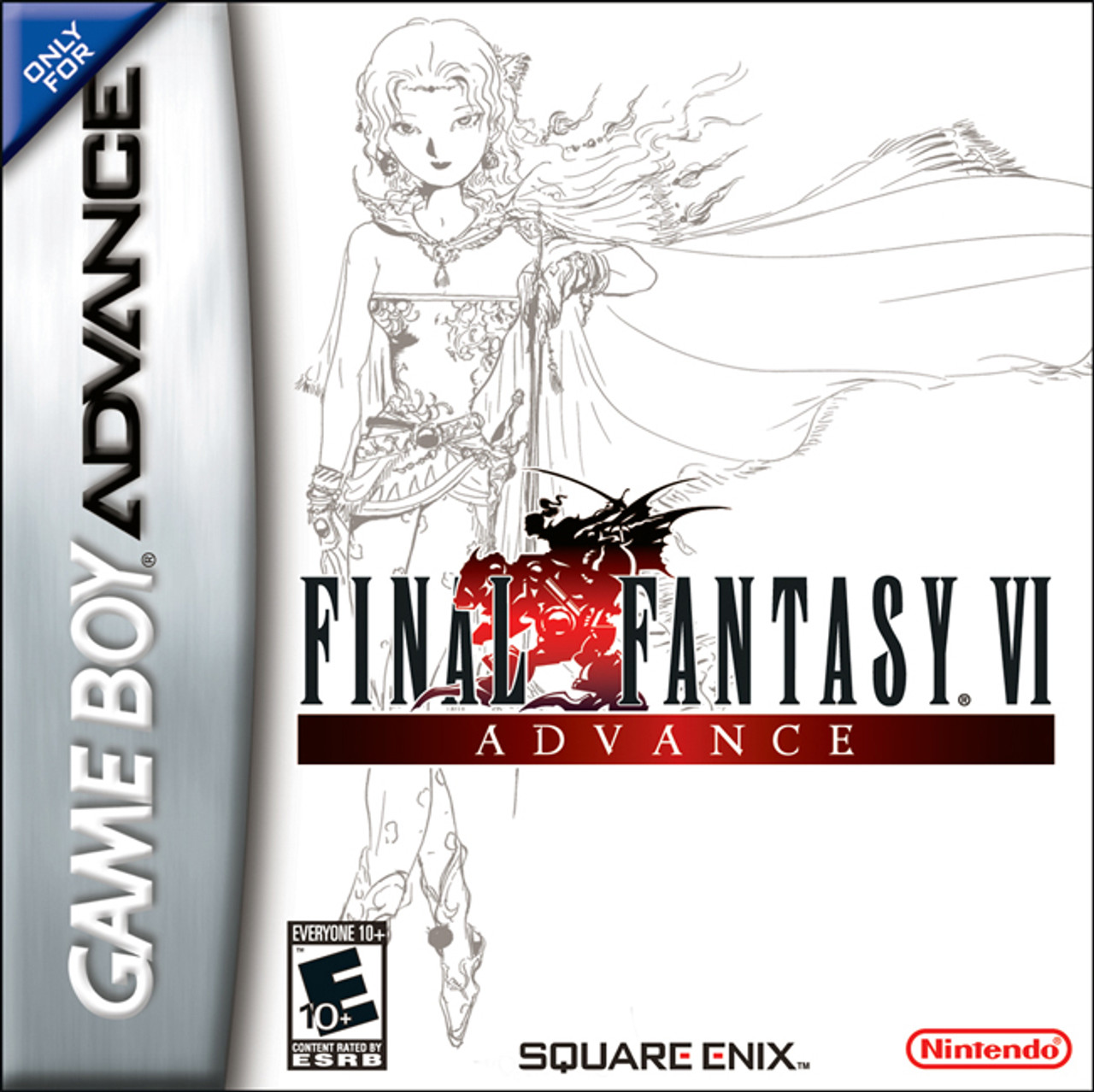 Complete Final Fantasy VI GameBoy Advance Game For Sale | DKOldies
