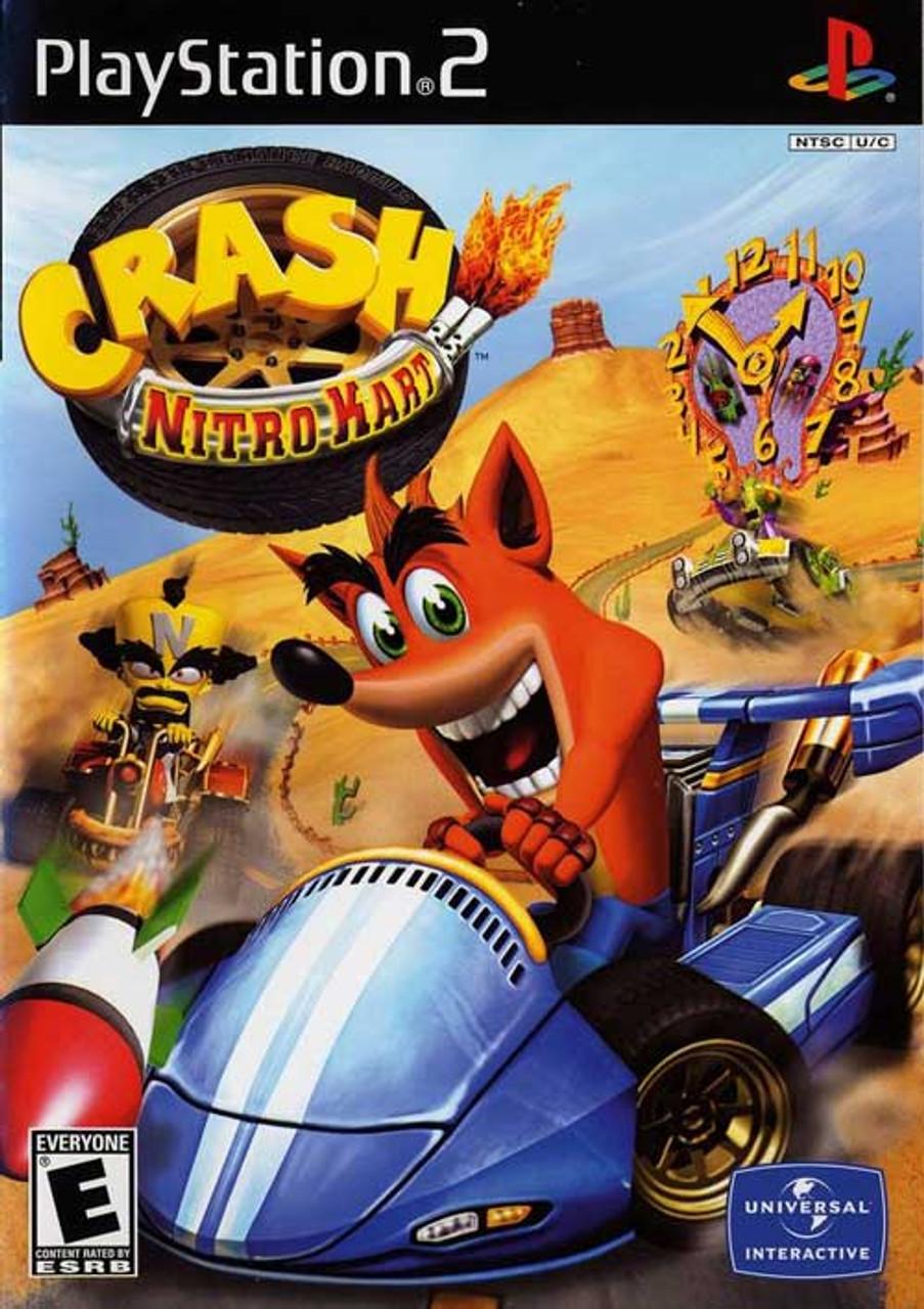 crash nitro kart playstation 2 game for sale dkoldies