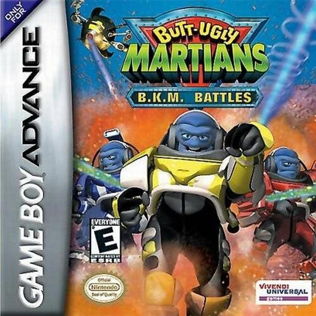 Butt Ugly Martians BKM Battles - Game Boy Advance Game