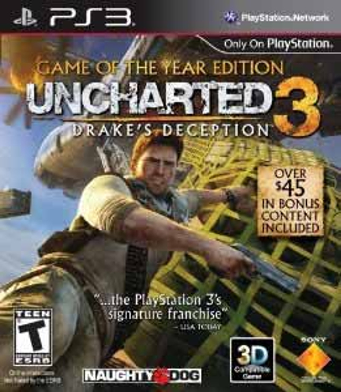 Uncharted 3 Drake S Deception Goty Edition Ps3 Game For Sale