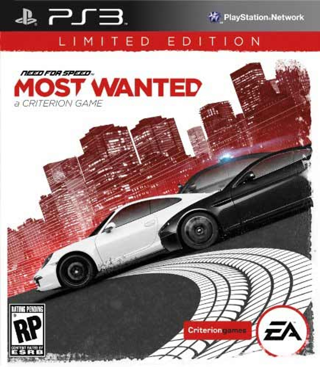 Need For Speed Most Wanted Limited Edition Ps3 Game For Sale