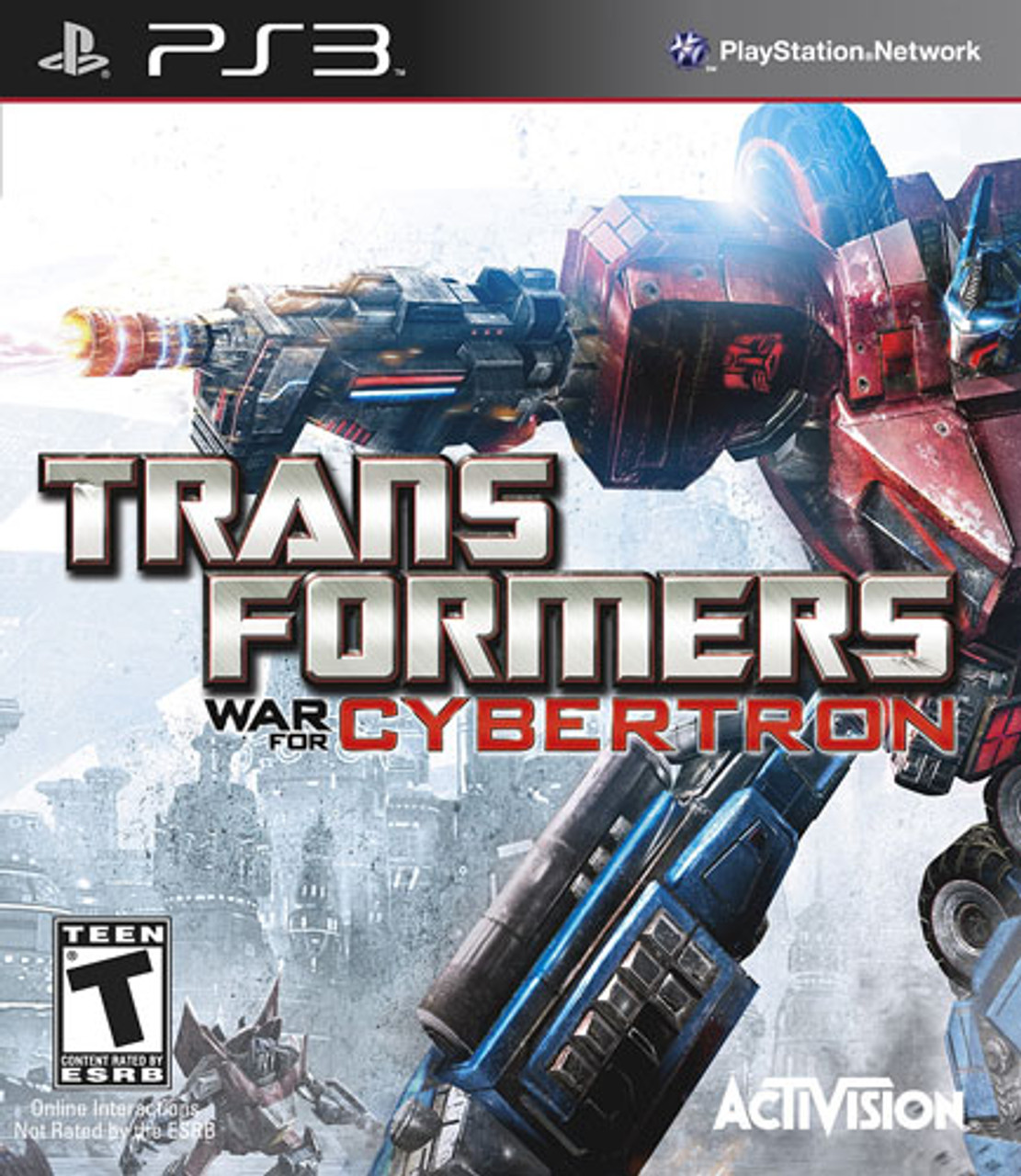Transformers War For Cybertron - PS3 Game