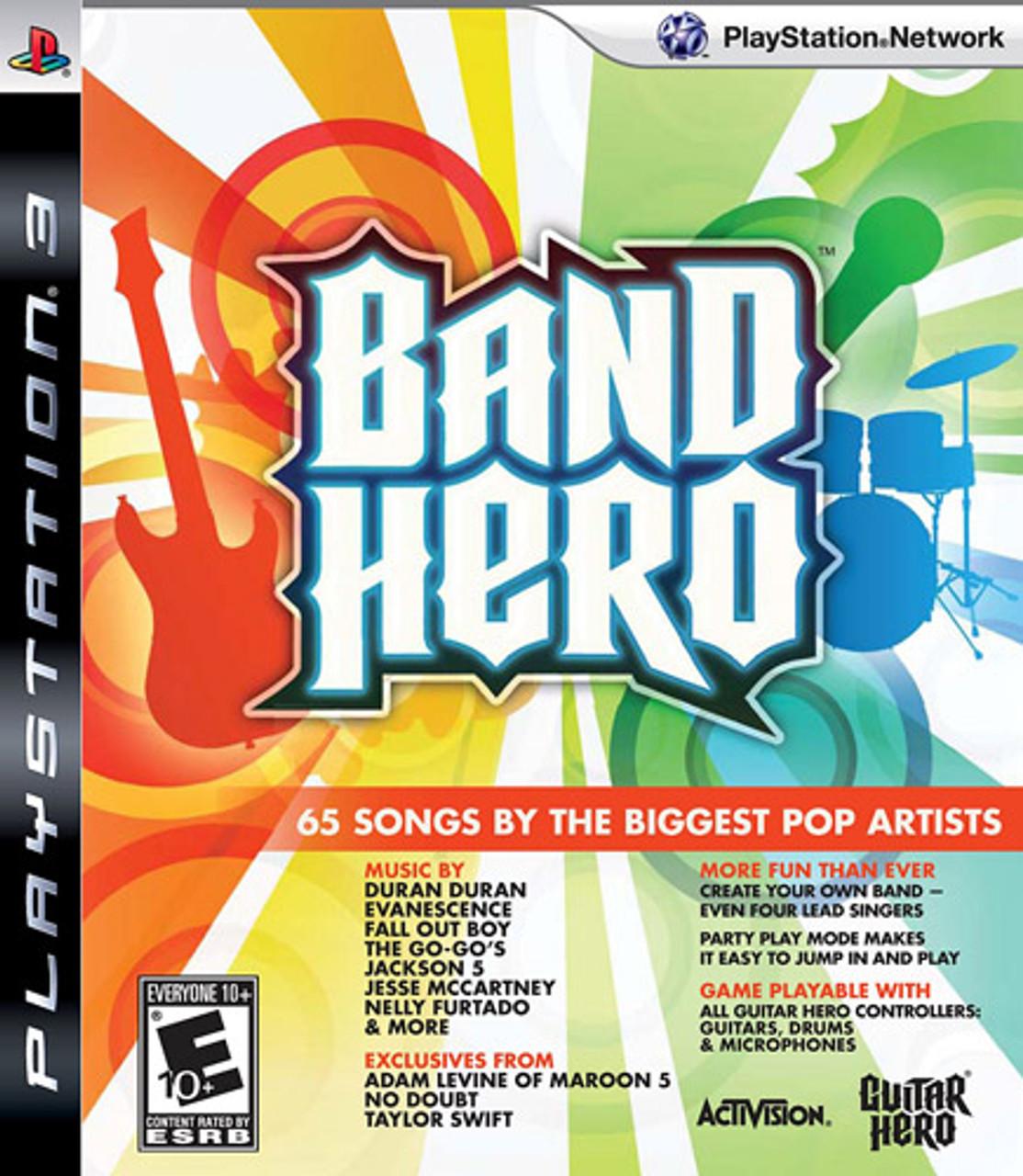 Band Hero - PS3 Game