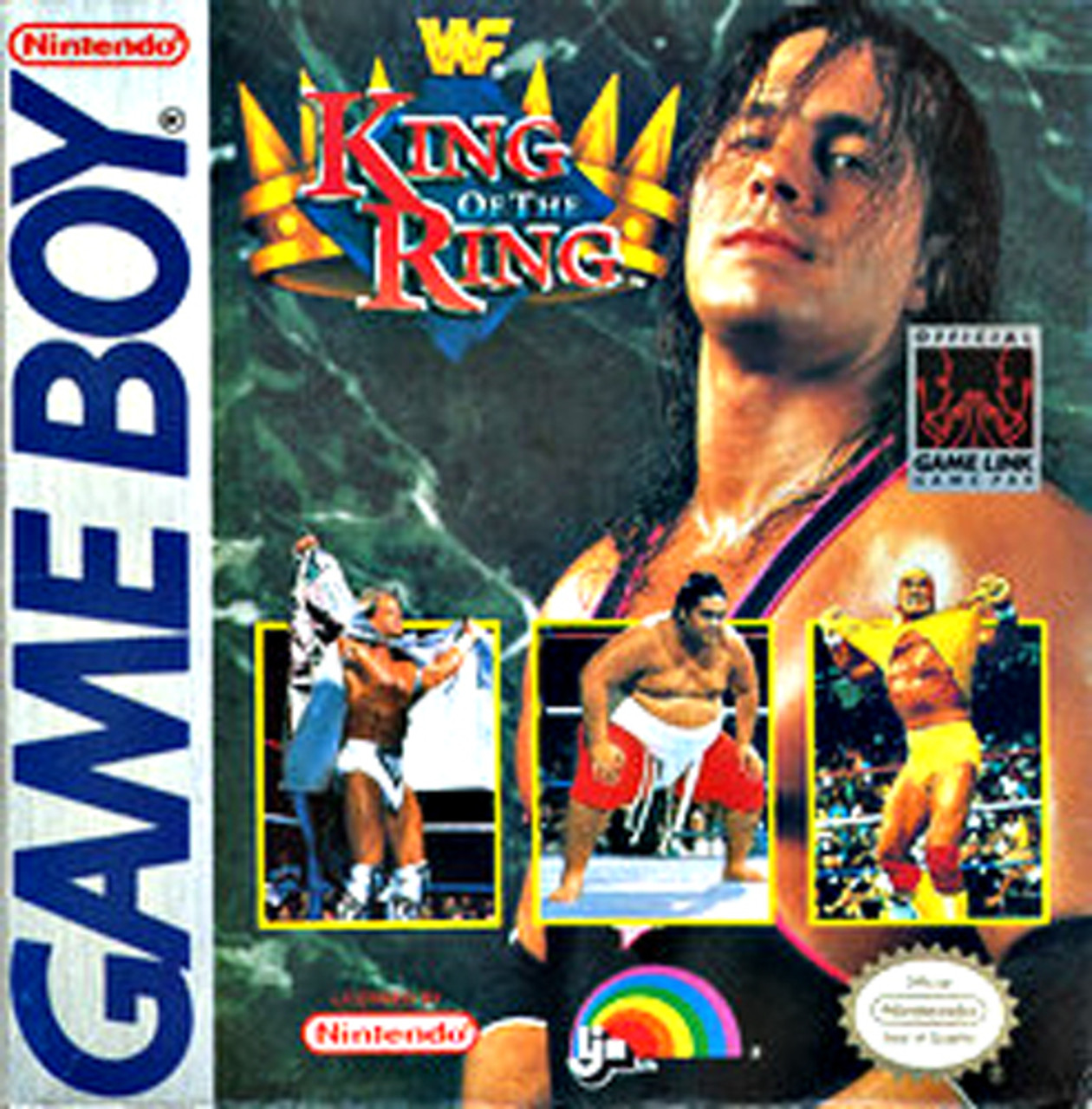 Wwf King Of The Ring Nintendo Gameboy Game For Sale Dkoldies