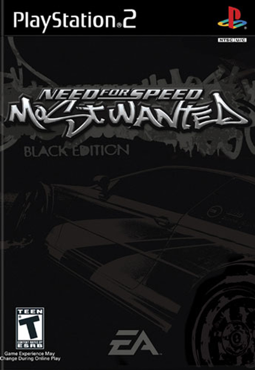 Need For Speed Most Wanted Black Edition Playstation 2 Game For Sale