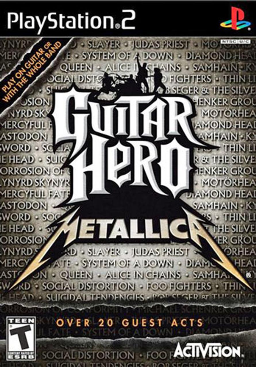 Guitar Hero Metallica - PS2 Game