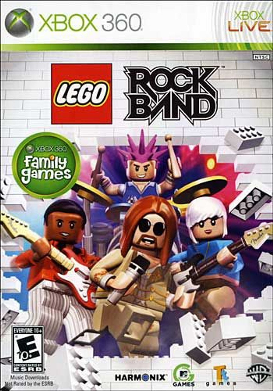 Lego Rock Band - Xbox 360 Game