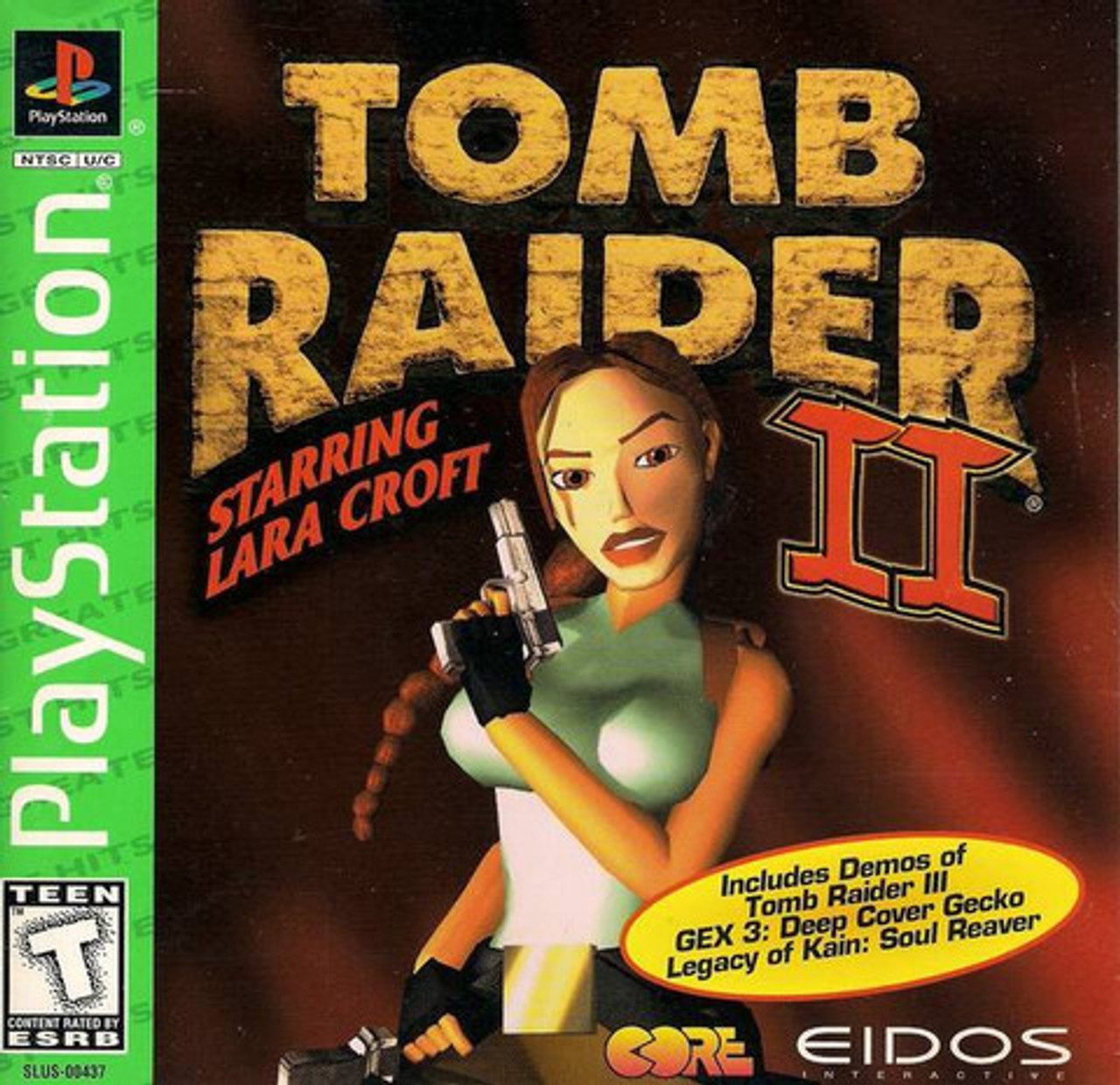 Complete Tomb Raider Ii 2 Greatest Hits Ps1 Game For Sale Dkoldies