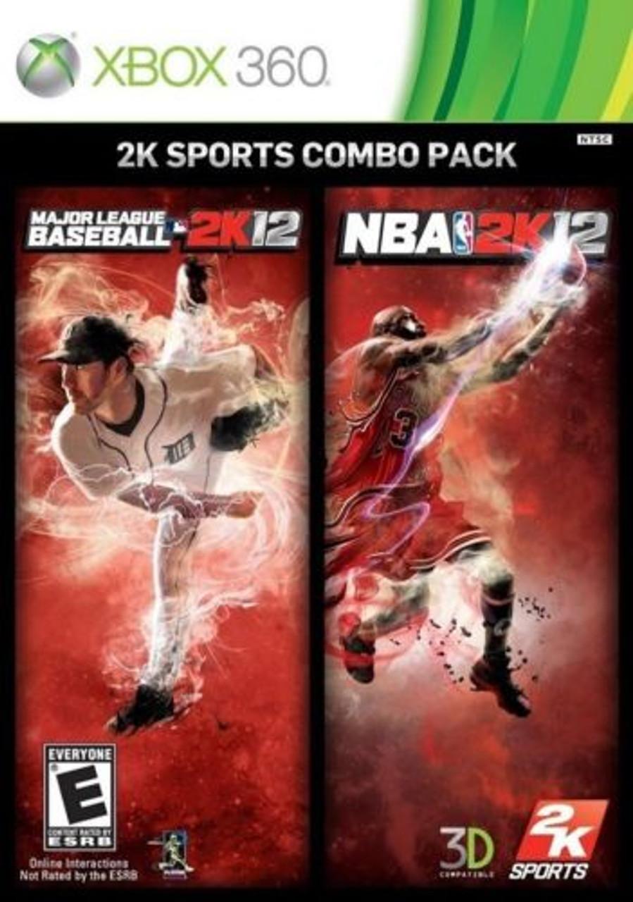 2k12 Sports Combo Nba 2k12mlb 2k12 Xbox 360 Game For Sale
