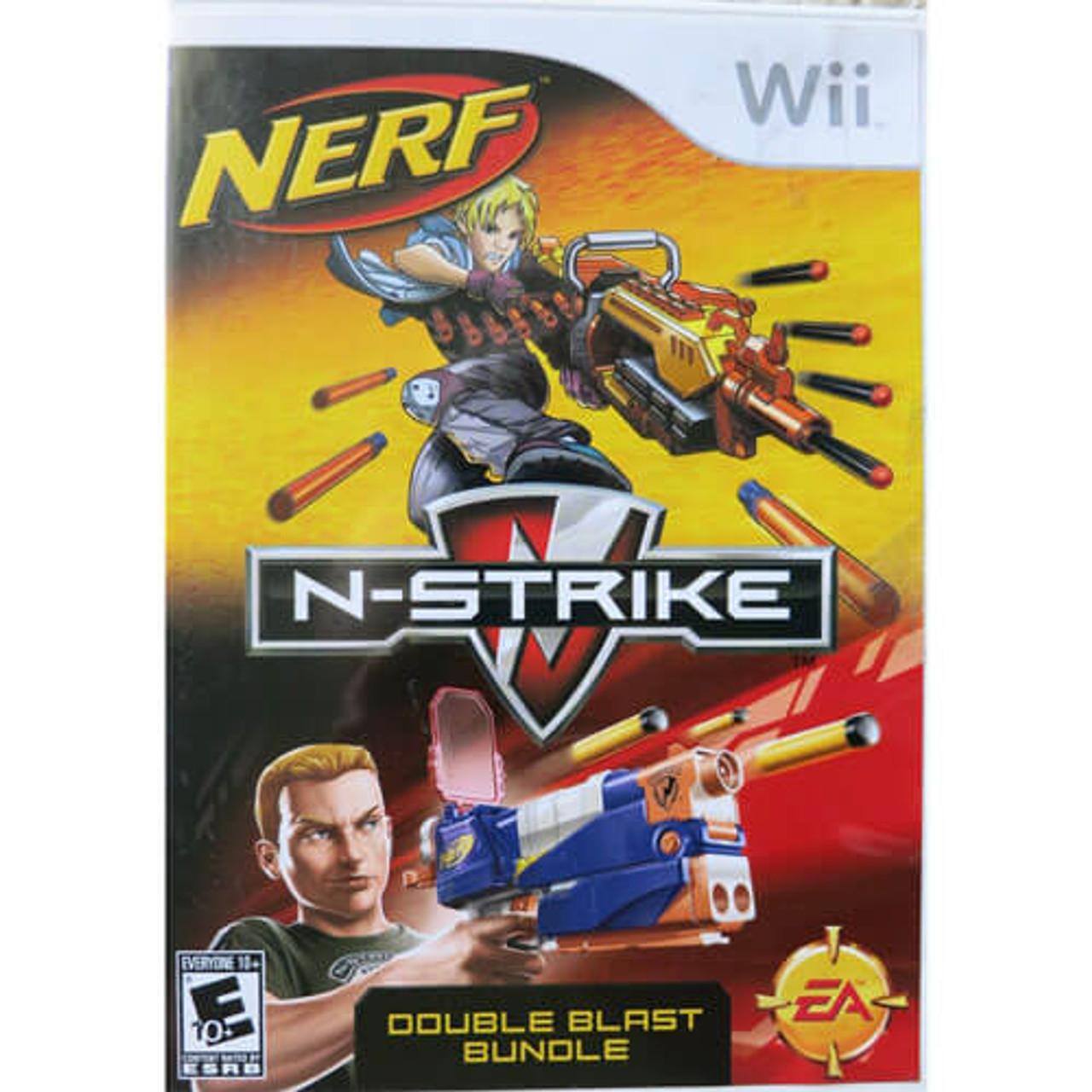 NERF N-Strike Double Blast Bundle - Wii Game