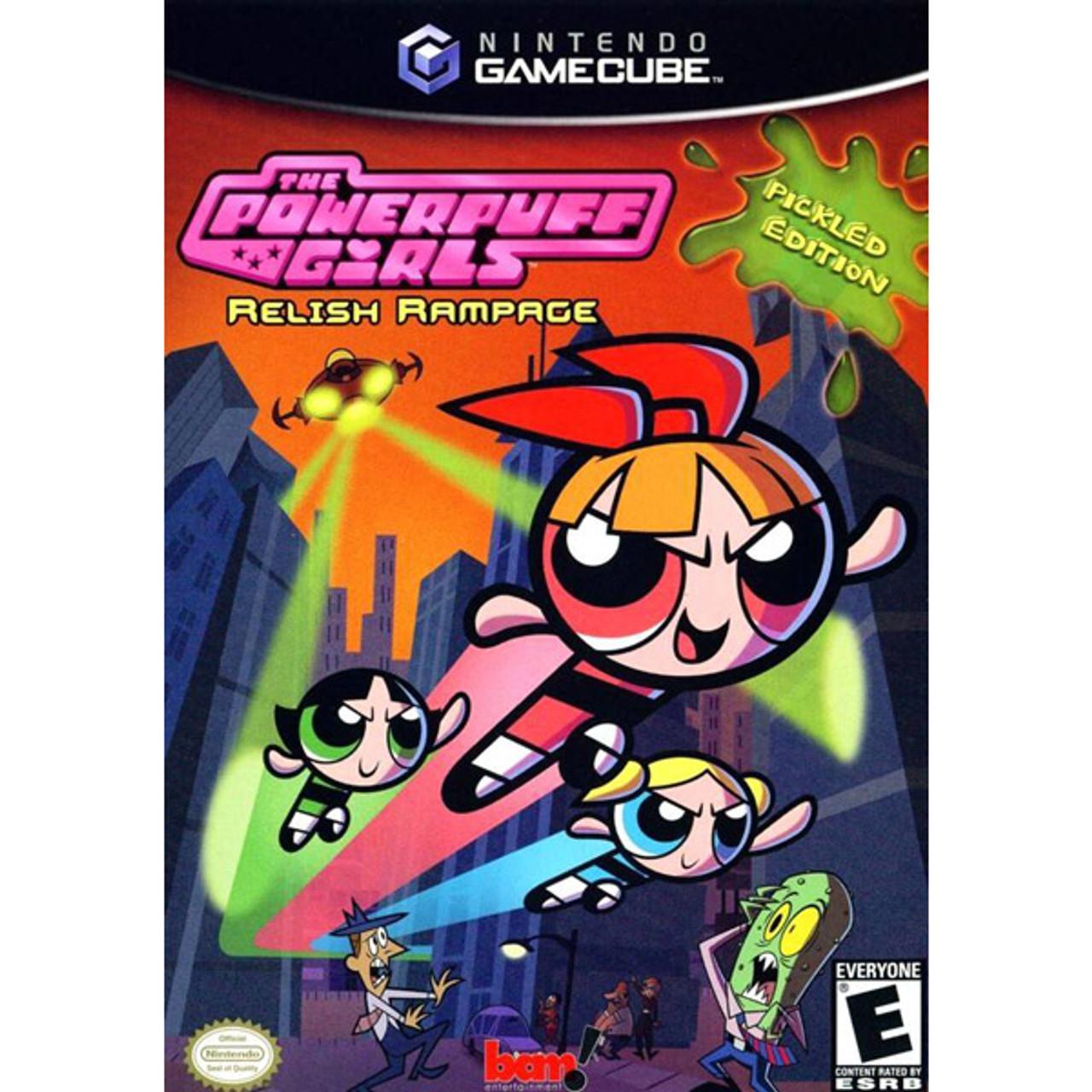 Powerpuff Girls Relish Rampage Nintendo Gamecube Game For Sale