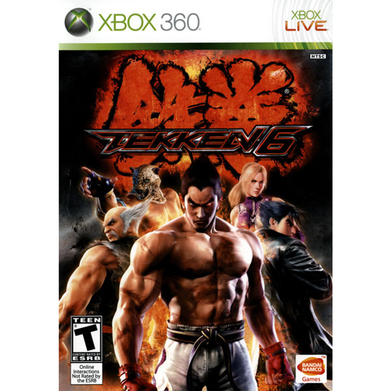 Tekken 6 Microsoft Xbox 360 Game For Sale Dkoldies