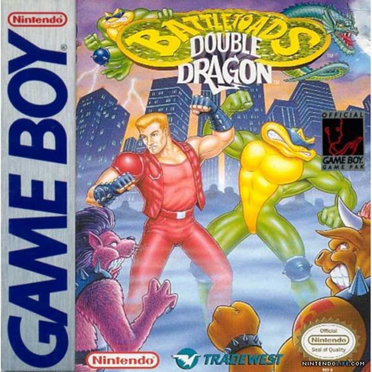 Battletoads Double Dragon Gameboy Game For Sale Dkoldies