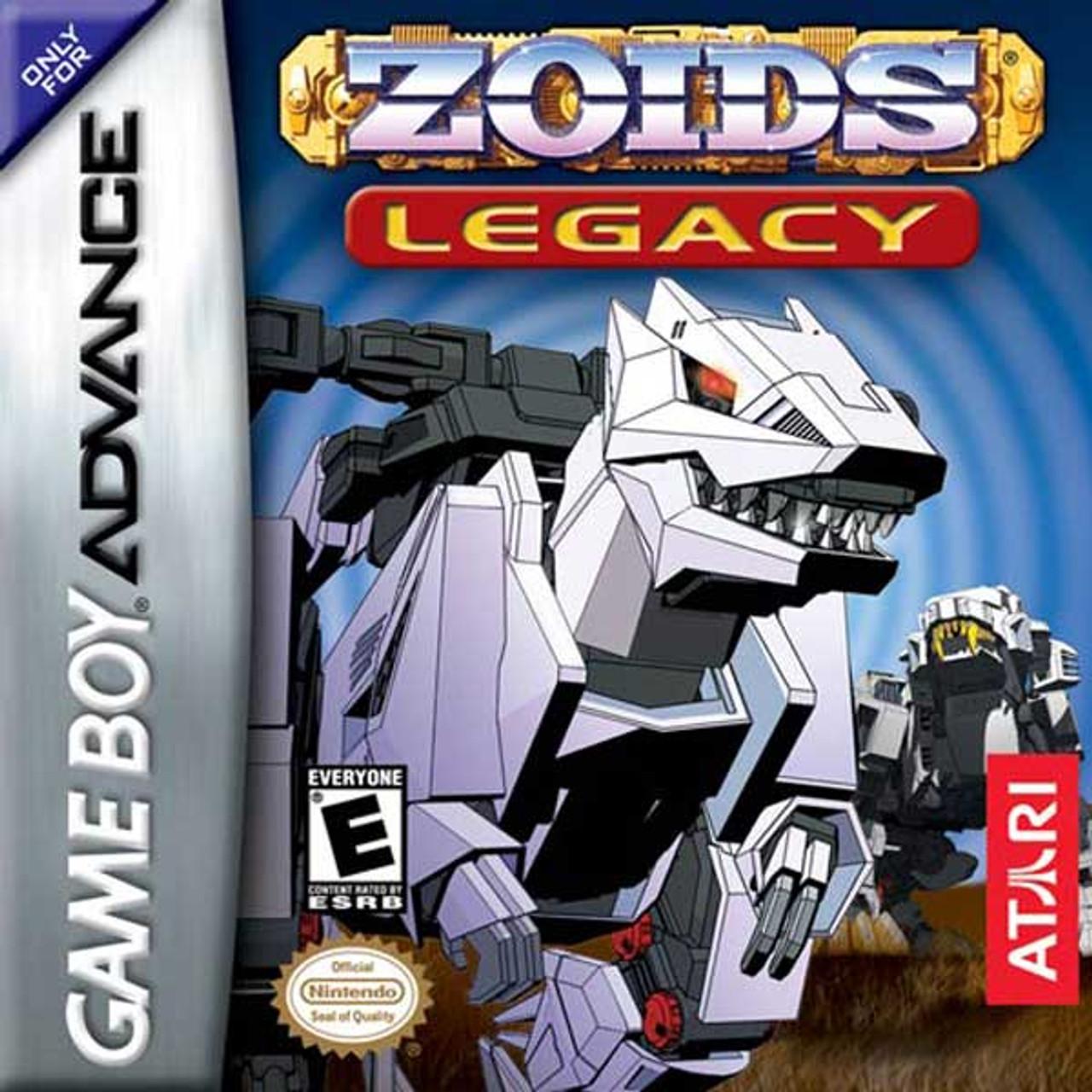 Zoids Legacy - Game Boy Advance Game