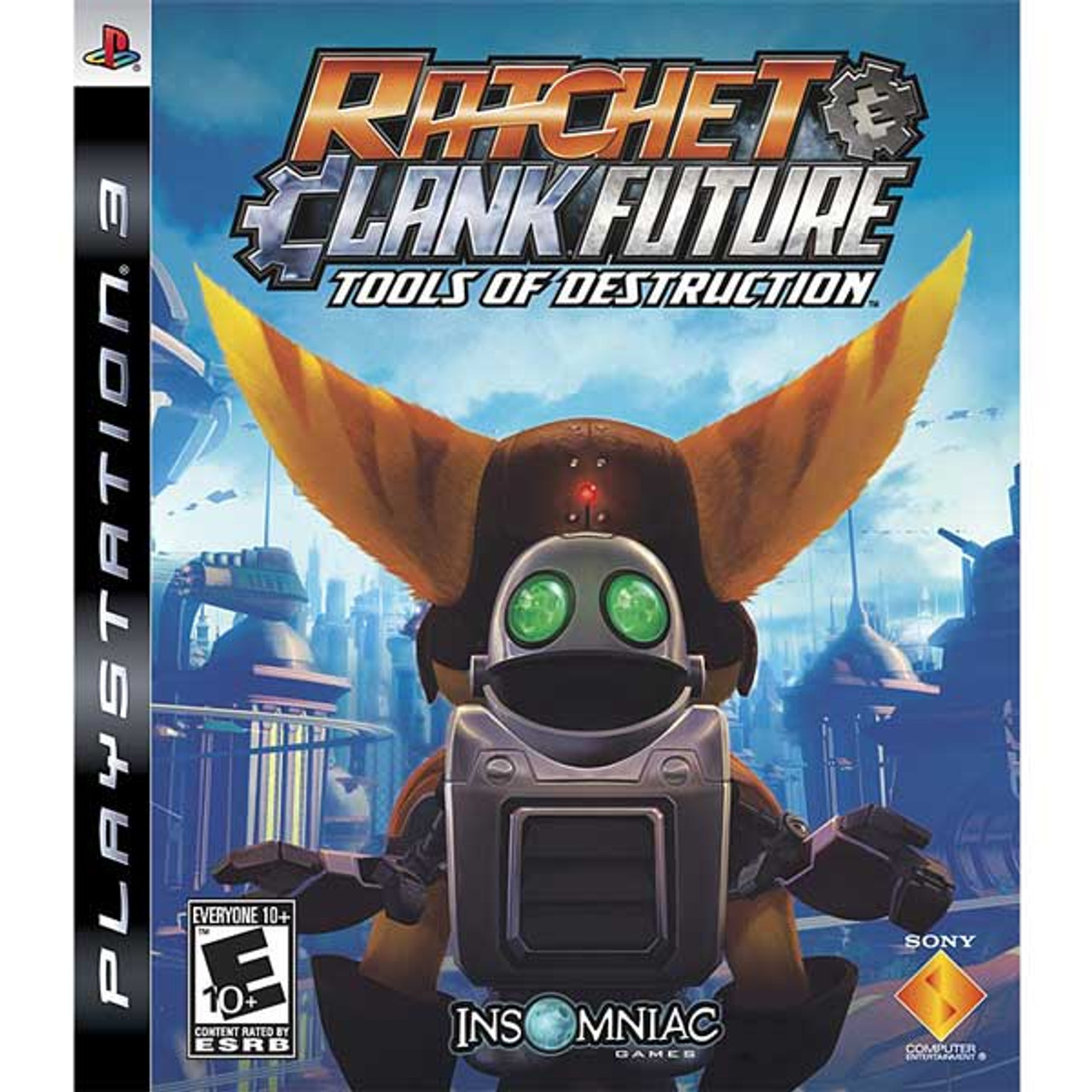 Ratchet Clank Future Tools Of Destruction Ps3 Game For Sale