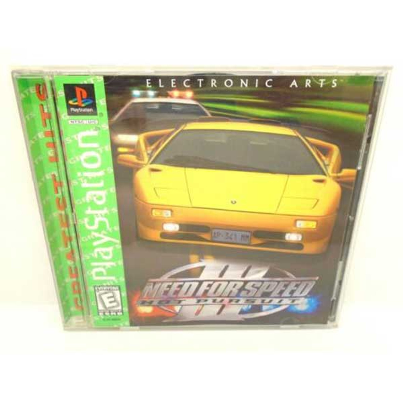 Complete Need For Speed Iii Hot Pursuit Greatest Hits Ps1 Game For