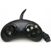 3rd Party Six (6) Button Controller - Genesis