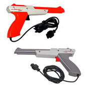 Original Light Zapper Gun Orange and Grey Nintendo NES