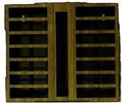 Storage Rack - Holds 14 Atari 2600 Cartridges