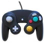 New Black Replica Controller - GameCube / Wii