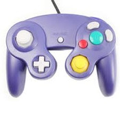 New Purple Replica Controller - GameCube / Wii