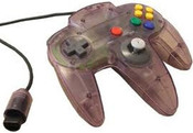 Original Controller Clear Purple - Nintendo 64 (N64)