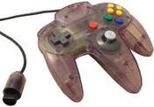 Original Controller Clear Purple - Nintendo 64 (N64)