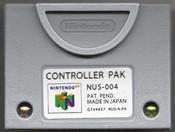 Original Memory Controller Pak - Nintendo 64 (N64)