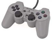 Original Analog DualShock Grey Controller - PS1