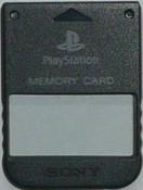 Original Memory Card Black - PS1