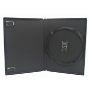 New All Black Game Disc Case - 10 ct