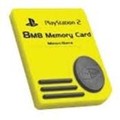 3rd Party Memory Card 8mb - Playstation 2 (PS2)