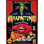 Haunting Starring Polterguy Empty Box For Genesis