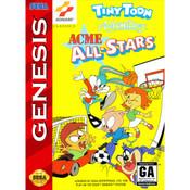 Acme All-Stars Empty Box For Sega Genesis