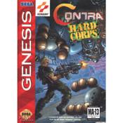 Contra Hard Corps Empty Box For Sega Genesis